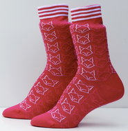 Bio-katoenen-sokken-vos-roze
