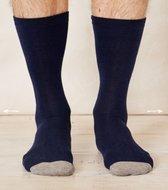 bamboe sokken blauw