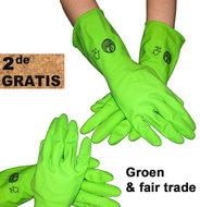 Sale-Huishoudhandschoenen-maat-L-1-paar-+-1-paar-gratis