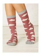 Braintree roze wolkjes sokken