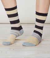 bamboe dames streepjes sokken