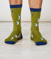 bamboe sokken met wilde eenden
