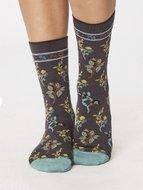 bamboe bloemetjes sokken
