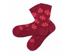 lotus hibiscus katoenen sokken