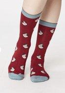 Bamboe-sokken-Robin-cranberry