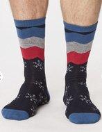 bamboe sokken heren navy