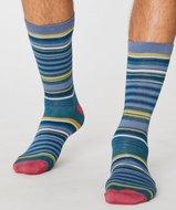 bamboe streepjes sokken