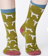 bamboe sokken met dalmatiërs