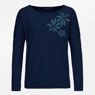 Bio-navy-longsleeves-trui--Tropical-Plants