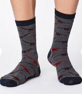 dinosaurier op sokken