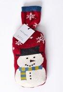 bamboe-2-paar-damessokken-sneeuwpop-in-cadeauzakje-zakje