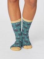bamboe dames sokken met katten print