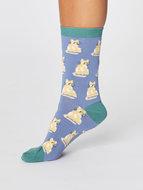 bamboe-damessokken-cute-cat-zee-blauw