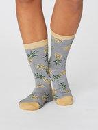 bamboe sokken grijs