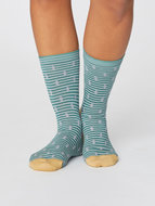 bamboe sokken met stipjes