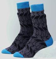katoenen-sokken-met-zwarte-flamingo
