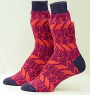 katoenen-sokken-met-roze-flamingo