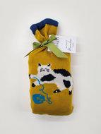 bamboe-2-paar-damessokken-Kitty-in-cadeauzakje-zakje