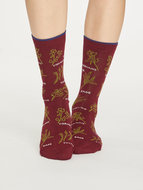 Bamboe-dames-sokken-Herby-bilberry