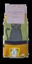 Bamboe katten sokken gestreept olive